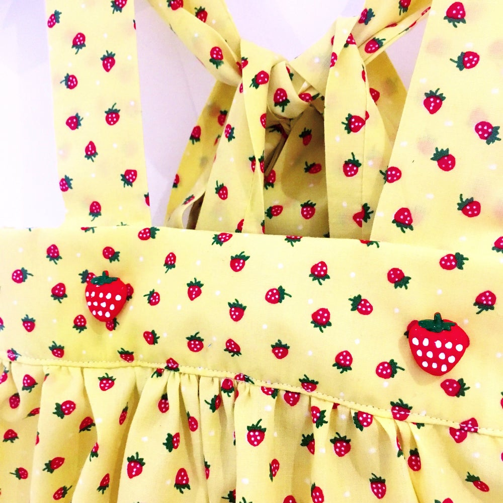 Image of Strawberry Pinny Skirt