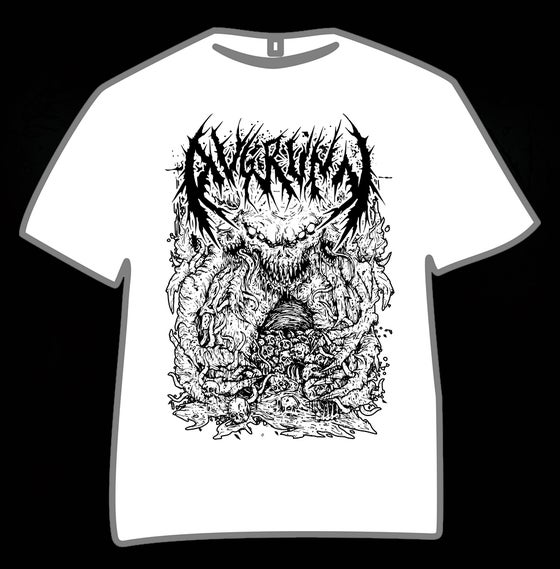 "Image of T-SHIRT ""DOOMBEAST"" WHITE"