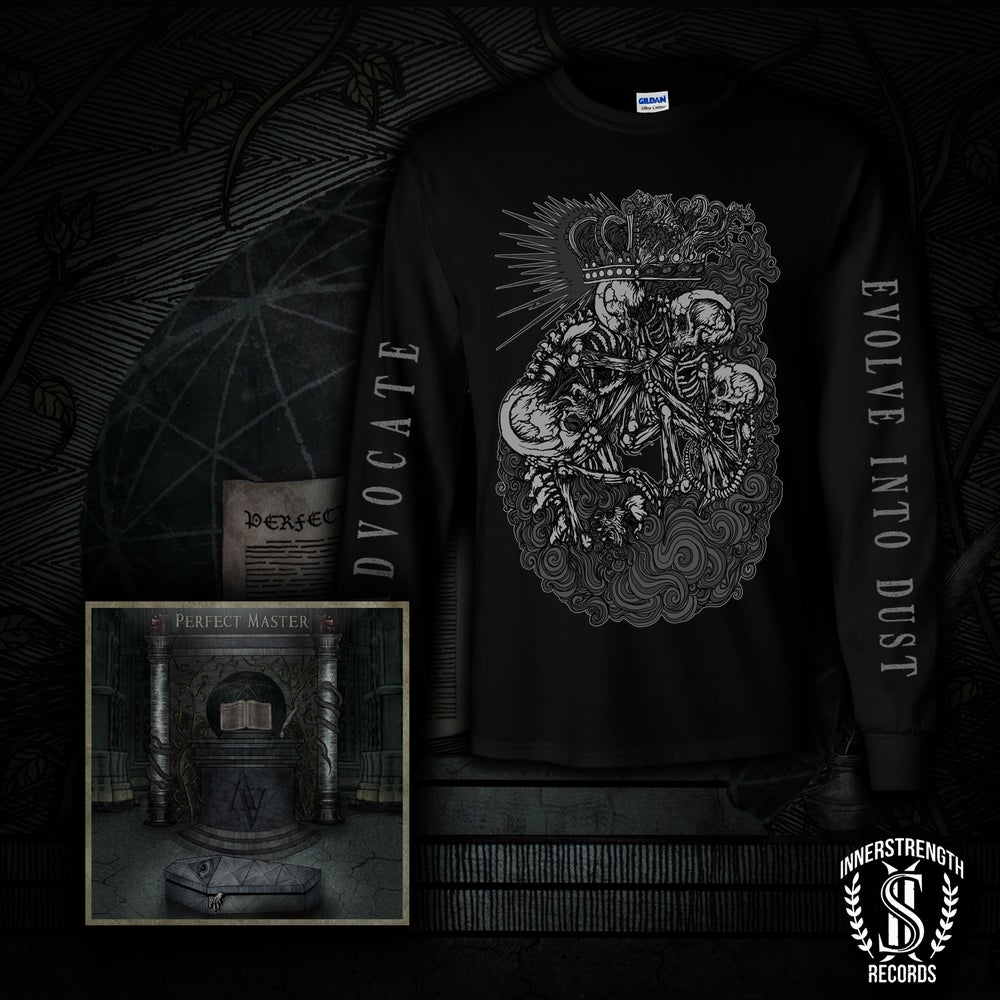 Image of Evolve To Dust Shirt and CD