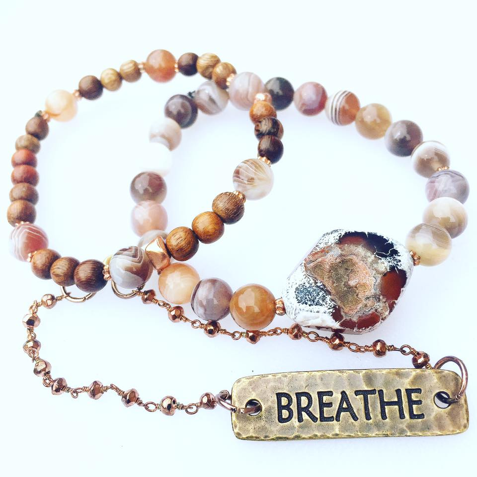 Image of Sacred Breathe and Ground *set of 3 bracelets*