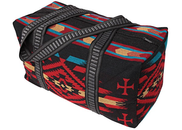 Image of Weekender Travel Bag - Black/Red