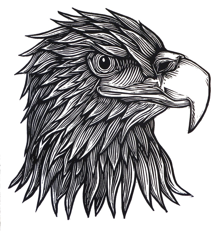 Eagle Head T-shirt (B3) **FREE SHIPPING**