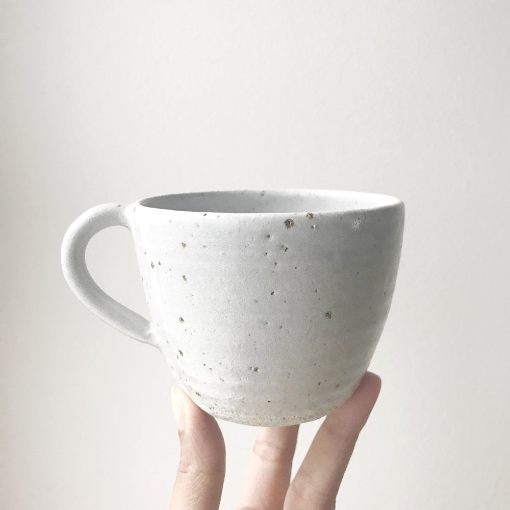 Image of Grey speckle teacup