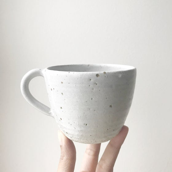 Image of Grey speckle teacup