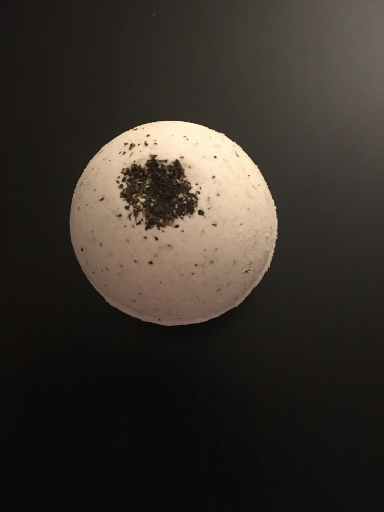 Image of Green tea bomb
