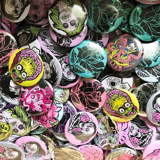 Image of Assorted Button Badges