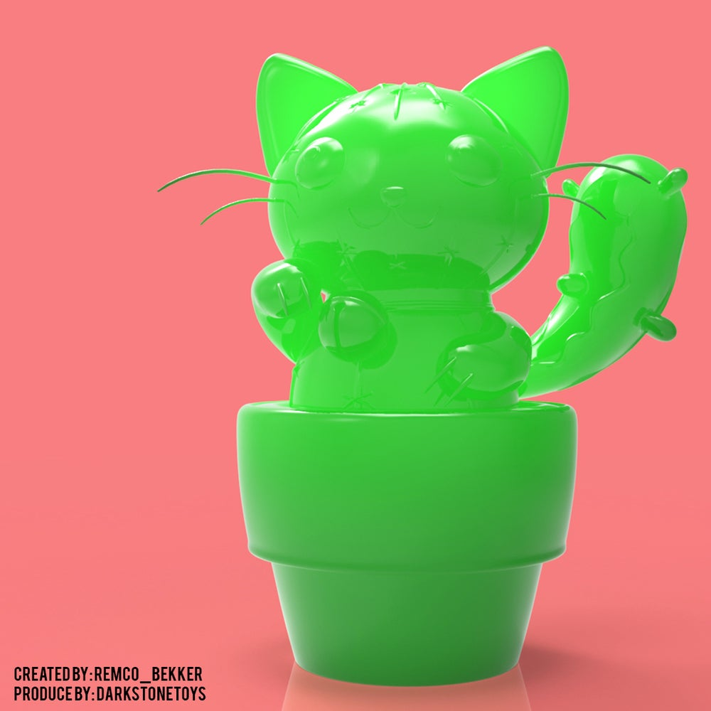 Image of Cat-Tus Green Edition by Remco Bakker