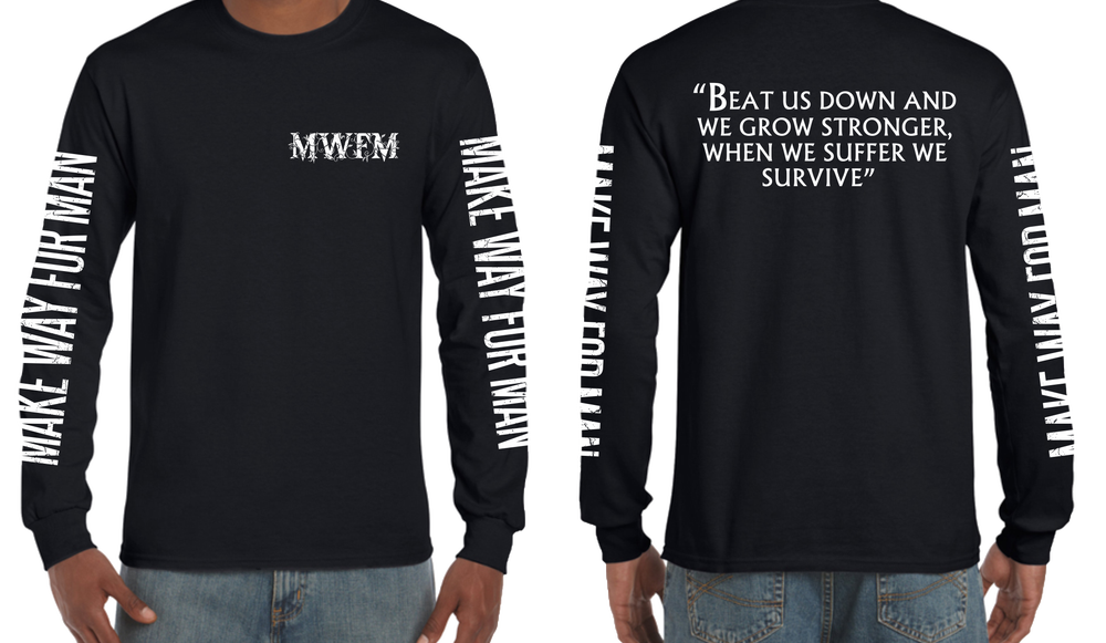 Image of Make Way For Man - Long sleeve shirt