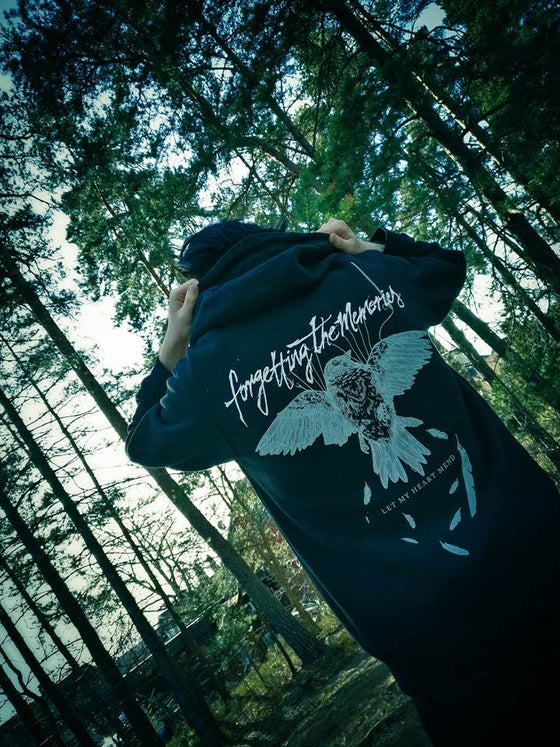 "Image of ""Let My Heart Mend"" - Zip Hoodie"