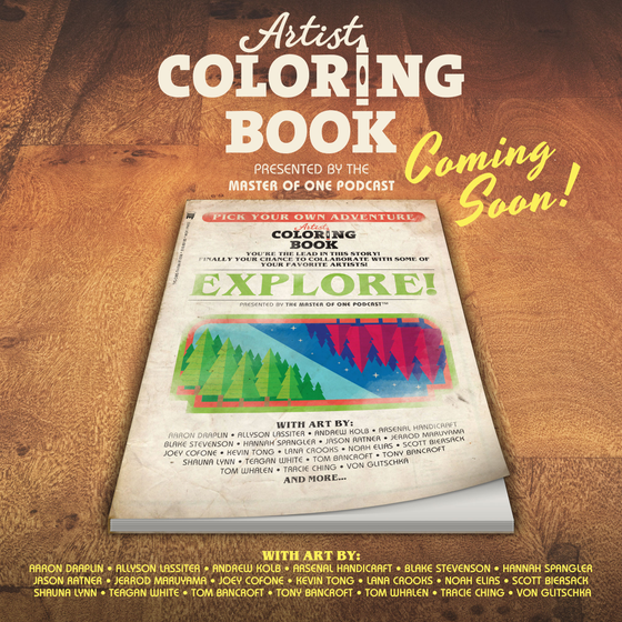 Image of Artist Coloring Book
