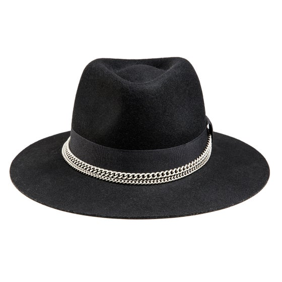 Image of BLACK / GREY FEDORA MARENGO