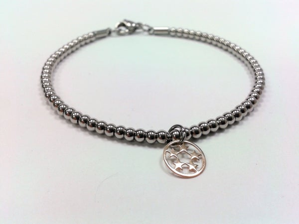 Image of Kugelarmband 3 mm Charm