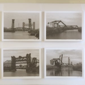 Image of Chicago Railroad Bridges 2017, set of 4