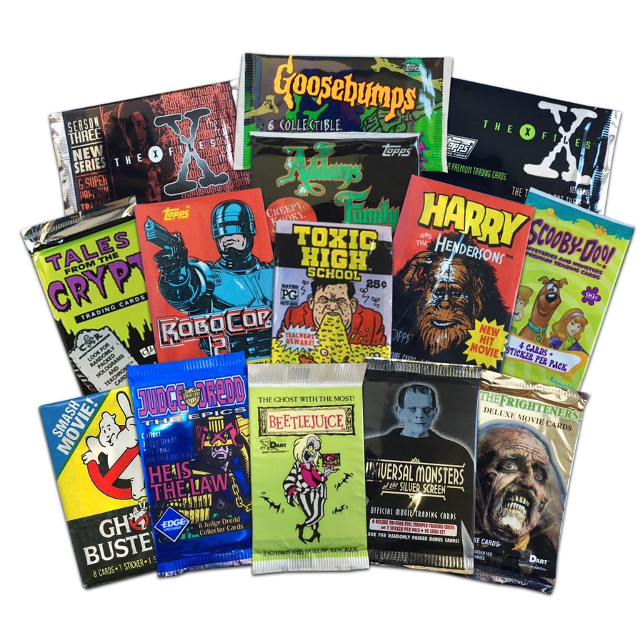 Image of Collectible Trading Cards