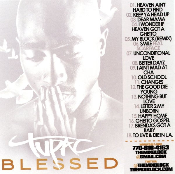 Image of Tupac: Blessed