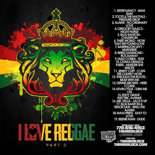 Image of I Love Reggae 3