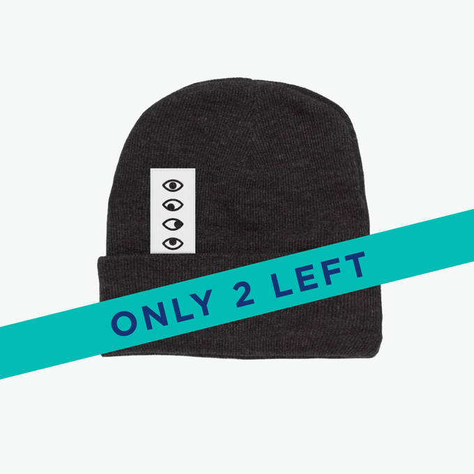 Image of 'Five Eyes' Asphalt Beanie