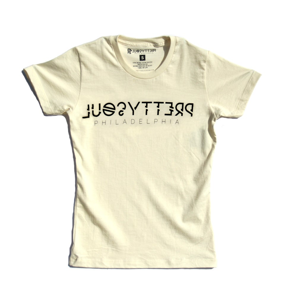 Image of PRETTY SOUL LOGO TEE (IVORY)