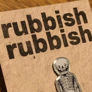 Image of Rubbish Rubbish 59 Matt Gordon Skeleton