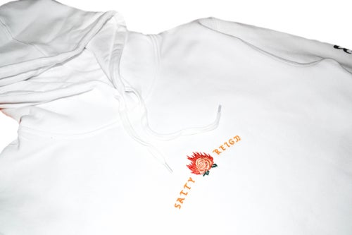 Image of Rose hood - White