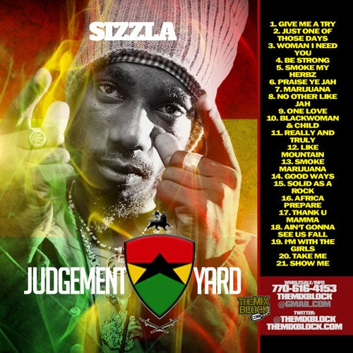 Image of Sizzla: Judgement Yard
