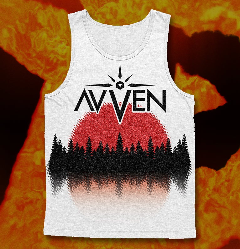 Image of Red Sun Tanktop