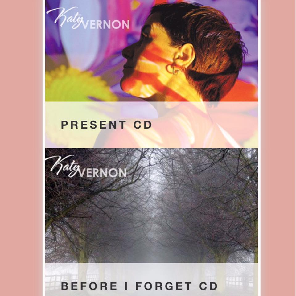 Image of Katy Vernon CDs. 'Present' or 'Before I Forget'
