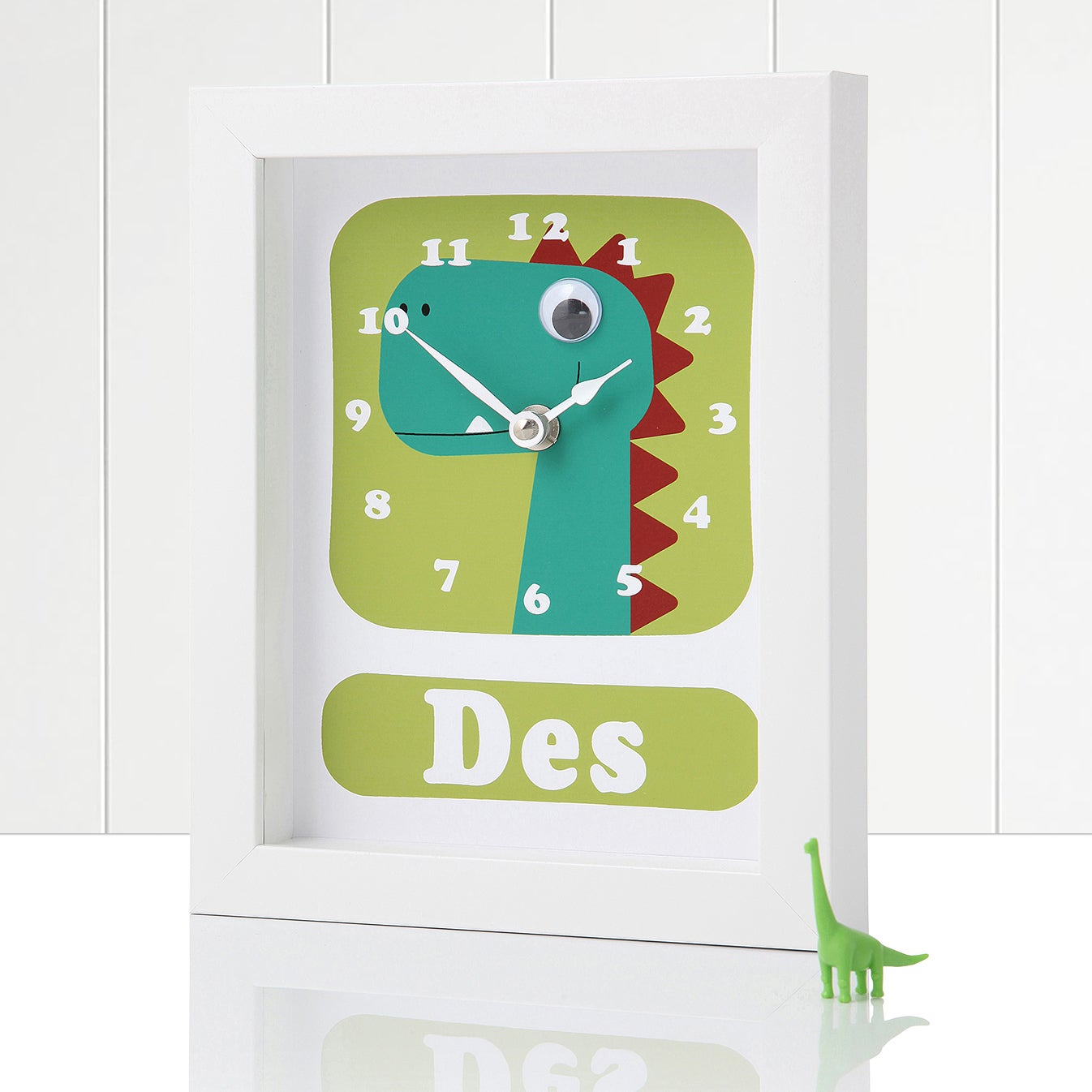 Image of Personalised Dinosaur Clocks