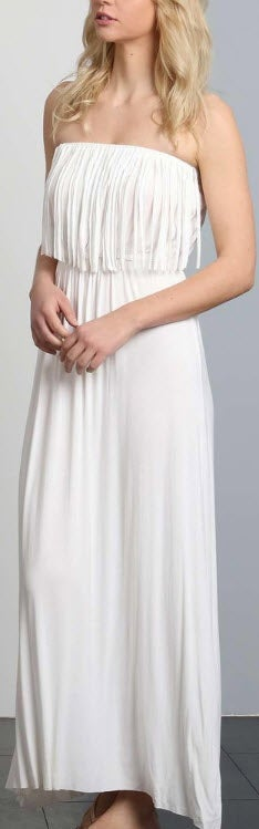 Image of Fringed Tube Maxi