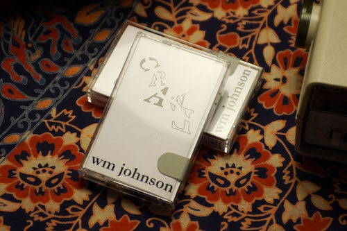 Image of wm johnson: crawl (Cassette)