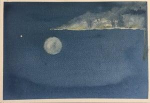 Image of Full Moon & Venus