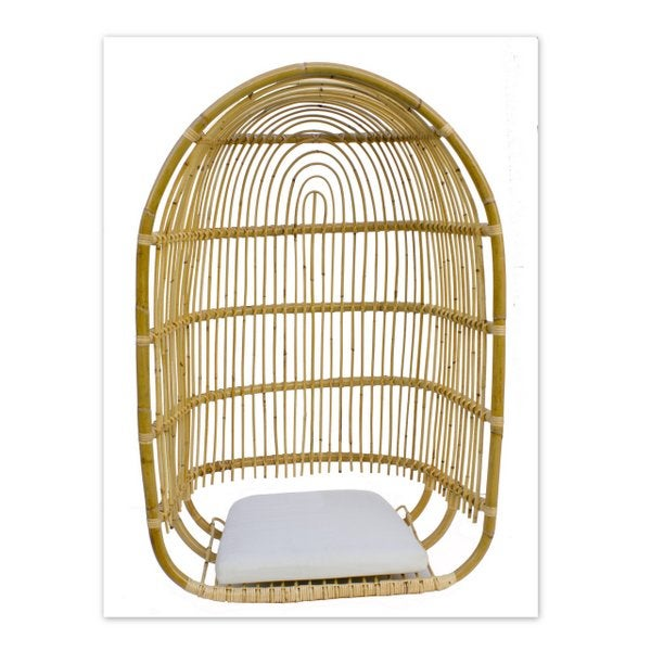 Image of Columpio rattan Nature