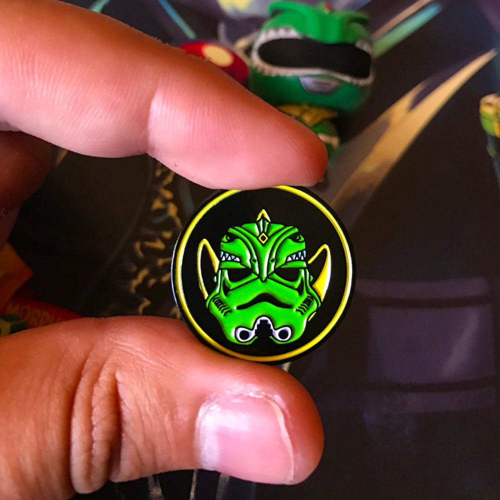 Image of Green Mighty Morphin Trooper