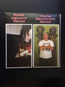 "Image of Split 7"" w/ Rikk Agnew Band & Chris Barrows Band."