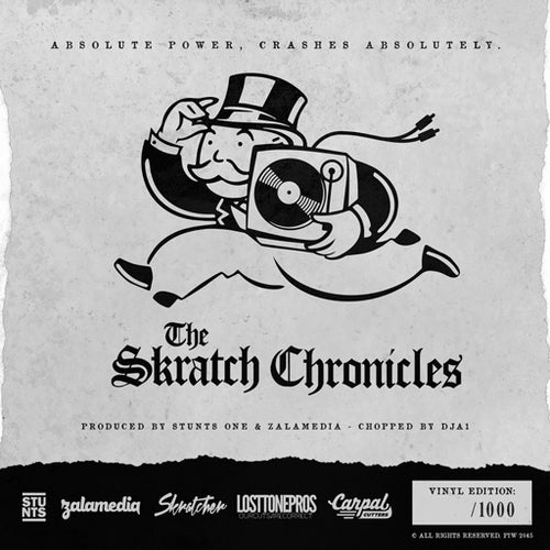 "Image of Black Tuesday / Skratch Chronicles 7"" Vol. 1"