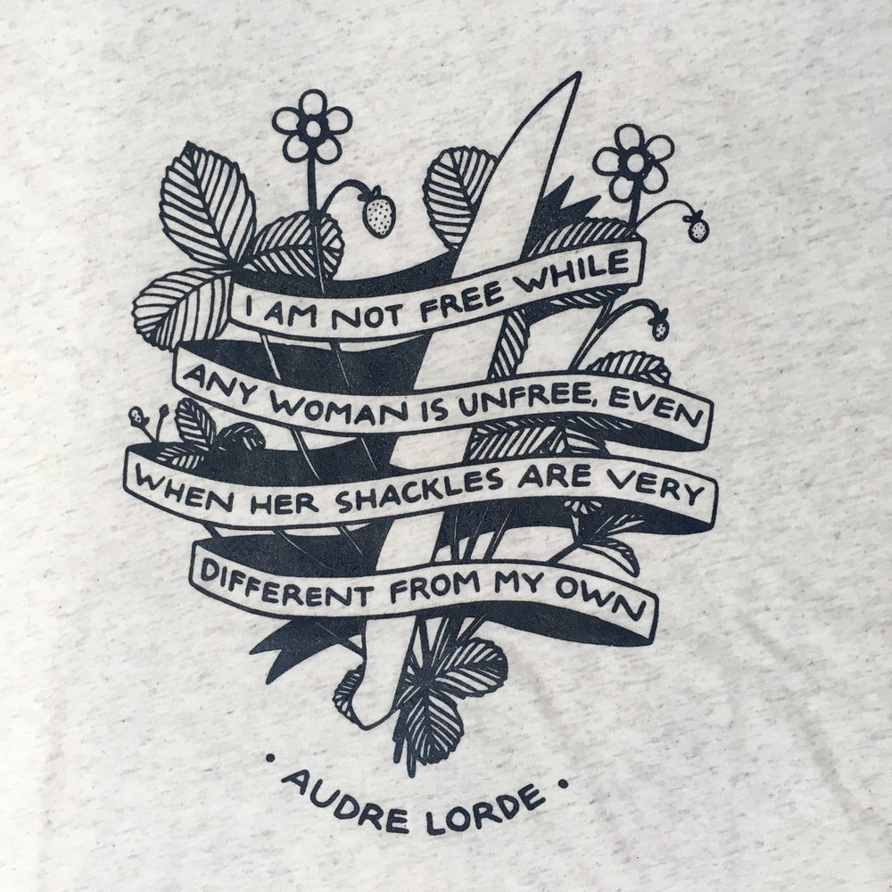 Image of AUDRE LORDE QUOTE TEE
