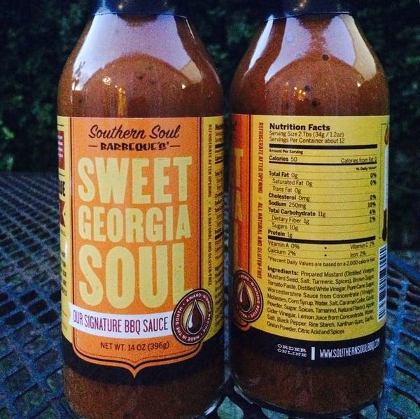 Image of Sweet Georgia Soul - 2 Pack - Signature BBQ sauce