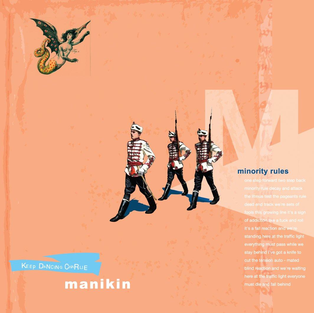 "Image of Manikin ""Keep Dancing Charlie"" 7"""