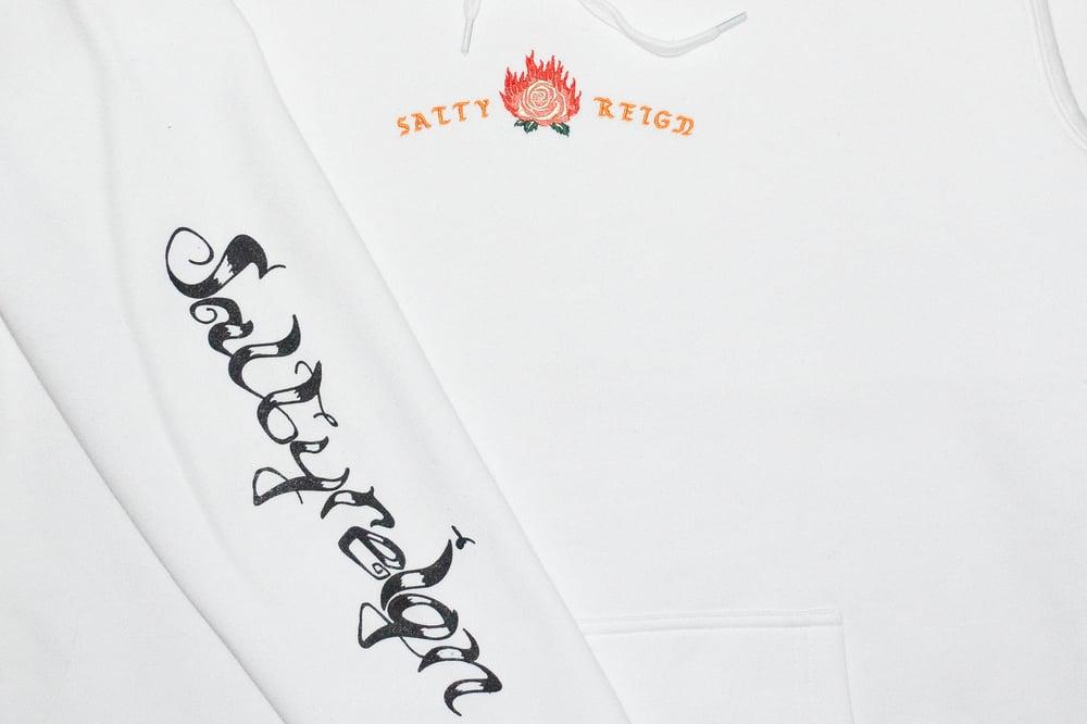 Image of Rose hood - White
