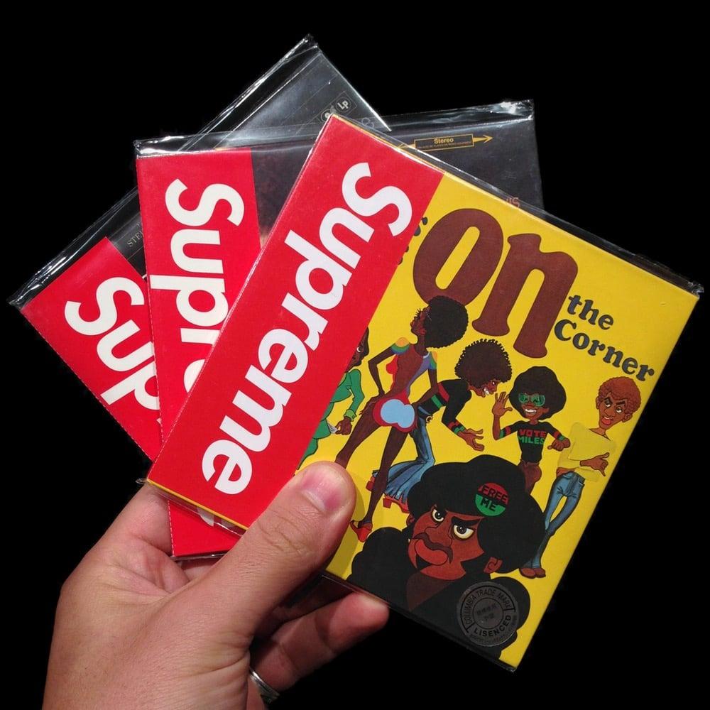 Image of 2008 Glass Ashtray, Miles Davis CDs, & Paper Journal