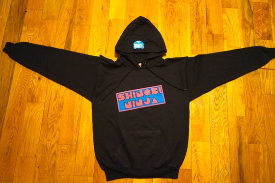 Image of Shinobi Ninja Black Hoodie Sweatshirt (Limited Edition)