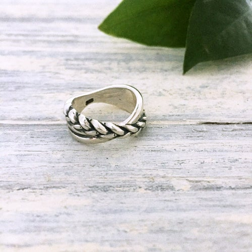 Image of Braided Trinity Ring