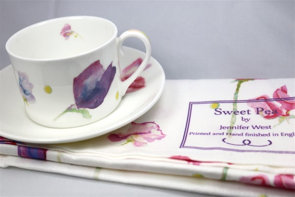 Image of Sweet Pea Tea Towel