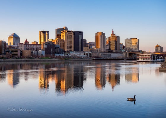 Image of Last Light of the Day in Saint Paul