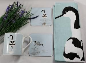 Image of Set of Four Avocet Melamine Coasters