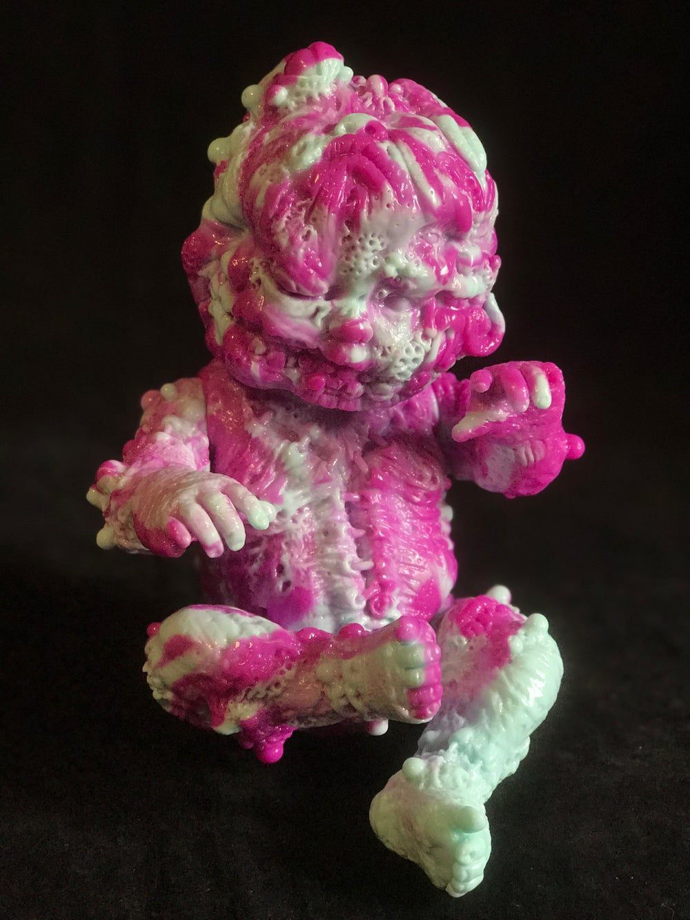 Image of Bittersweet 2 Color Marble Autopsy Zombie Staple Baby