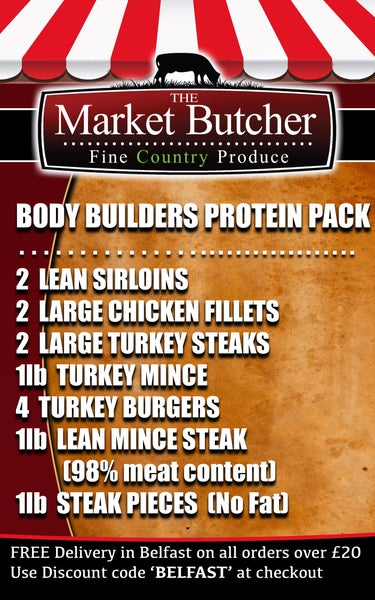 Image of Body Builders Protein Pack