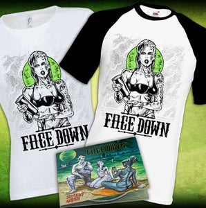 "Image of NEW ALBUM ""Soylent Green""/ T-shirt/ Girly"