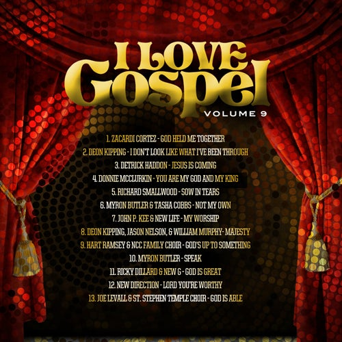 Image of I Love Gospel Vol.9