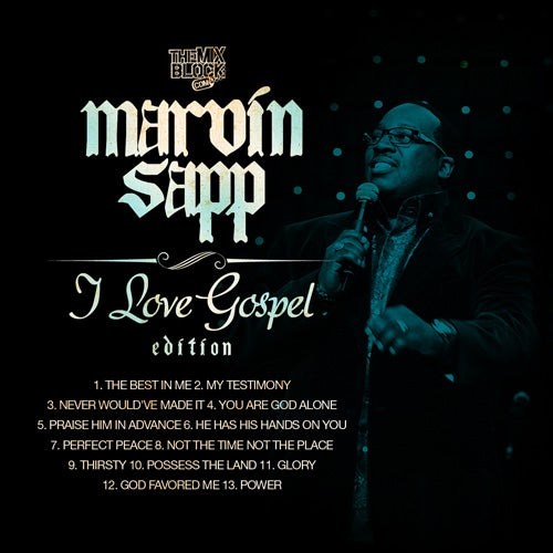 Image of Marvin Sapp: I Love Gospel Edition